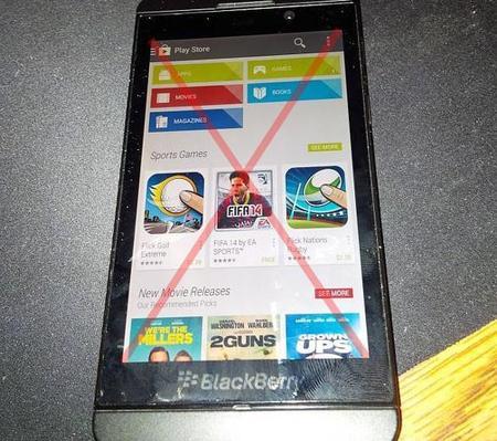 Siempre mejor no: Google Play no llegará a BlackBerry