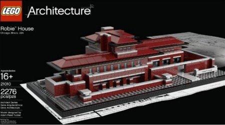 LEGO te deja construir una de las casas más míticas de Frank Lloyd Wright