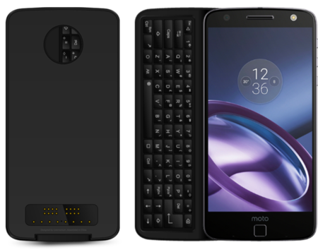 Physical Keyboard Mod For Moto Z