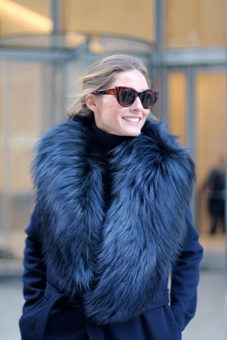 Street Style Semana de la Moda de Nueva York: nieve en Manhattan