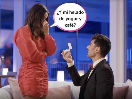 """Hugo sorprende a Lara en 'La Isla de las Tentaciones: 6 meses después' pidiéndole matrimonio: """"¿Sandra, quieres ser la madrina?"""""""