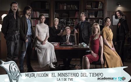 'El Ministerio del tiempo' es la mejor ficción de unos Premios Iris 2017 dominados por Antena 3