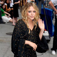 Mary-Kate Olsen en el Show de David Letterman