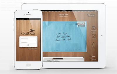 Outbox, tu correo ordinario digitalizado y online estés donde estés