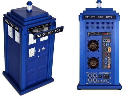 Tardis PC, la carcasa para  HTPC que tendría el Doctor en el salón de casa