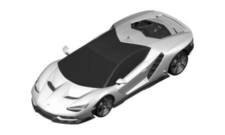 Buceando en las oficinas de patentes te encuentras al Lamborghini Centenario LP770-4