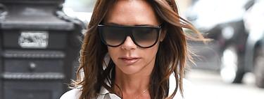 ¿Es una falda? ¿Un pantalón? El último look de Victoria Beckham crea un efecto óptico