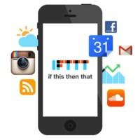 IFTTT para iPhone hace que tu teléfono sea más inteligente