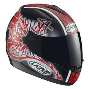 Mi casco: Lazer Vertigo Dragon