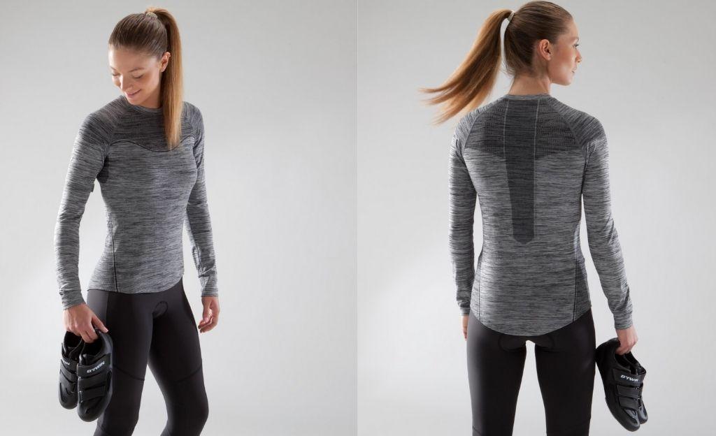 Camiseta interior sin costuras