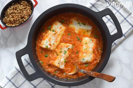 Pescado con tomate: receta saludable fácil perfecta para llevar en tupper