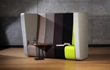 Un sofá perfecto para separar espacios