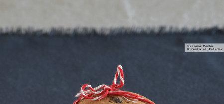Galletas de mantequilla tostada con chips de chocolate y centeno. Receta