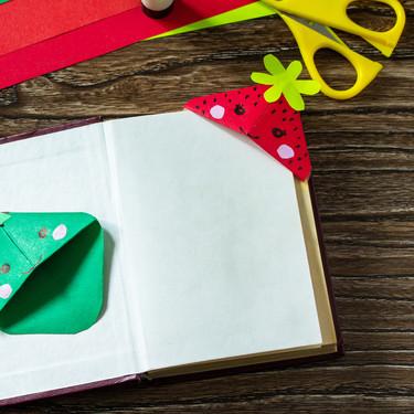 25 manualidades para pequeños lectores y amantes de los libros que puedes hacer con los niños