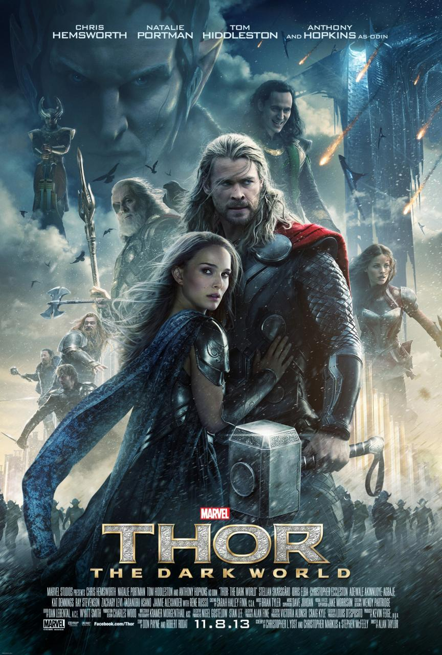 Thor: el mundo oscuro carteles