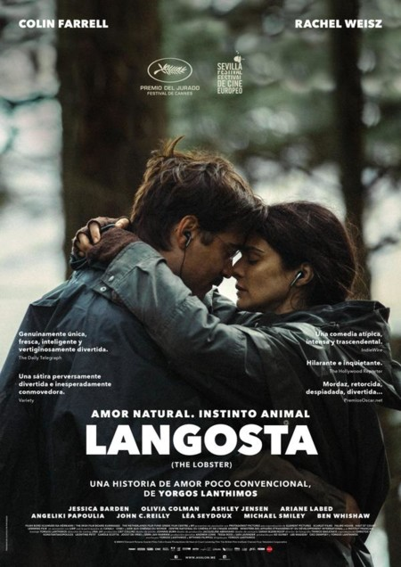 Cartel español de Langosta (The Lobster)