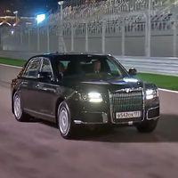 Este vídeo de Putin con un coche en circuito podría haberlo petado, pero se corta demasiado pronto