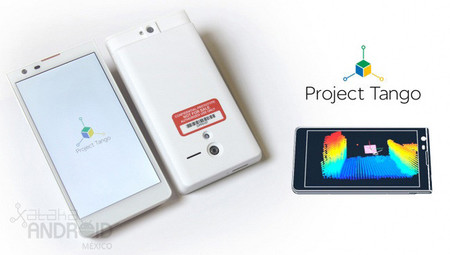 Google ya comienza a utilizar tablets en el Proyecto Tango