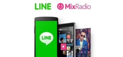 Line compra Mix Radio, el servicio de streaming musical de Microsoft