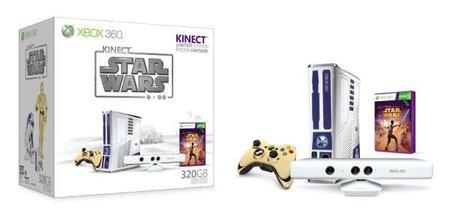 La consola edición limitada Xbox 360 de Star Wars se retrasa, al parecer hasta el 2012