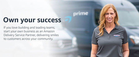 Amazon ahora propone que montes tu propio negocio de mensajería para repartir sus paquetes
