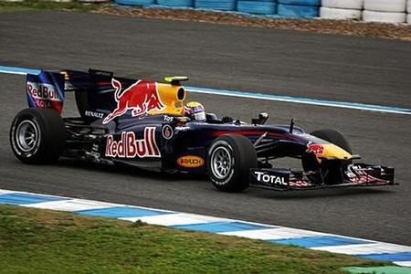 Red Bull y la lluvia protagonistas en Jerez