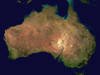 Australia se mueve 1,8 metros al norte para adaptarse a los coches autónomos
