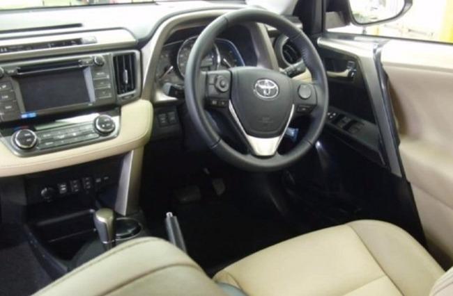 Posiblemente, el nuevo Toyota RAV4 por dentro