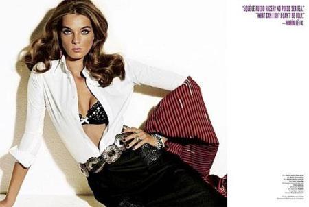 Maria Felix en V Magazine