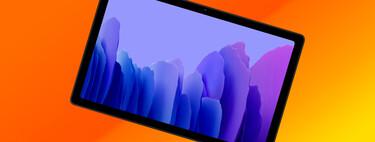 La tableta asequible de Samsung, la Galaxy Tab A7, está más barata que nunca en Amazon: 291,27 euros
