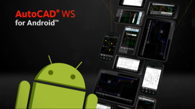 Ya disponible AutoCAD WS en el Android Market