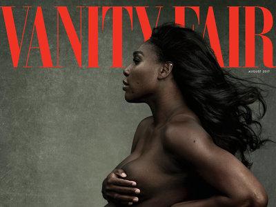 Serena Williams firma una portada para el recuerdo: embarazada, fuerte, y fabulosa