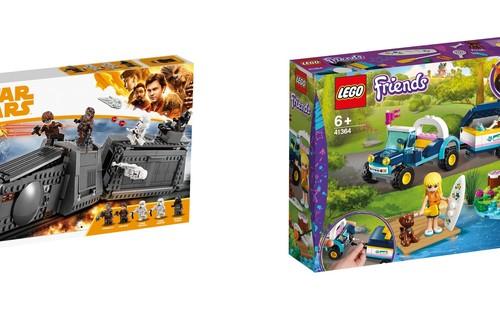 Sets de Lego Star Wars, City o Friends un 30% más baratos en  El Corte Inglés con recogida rápida Click&Car