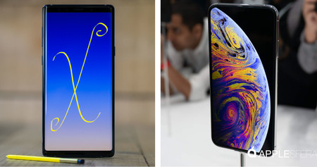 iPhone XS Max vs Galaxy Note 9: más tests de velocidad dan la victoria al terminal de Apple