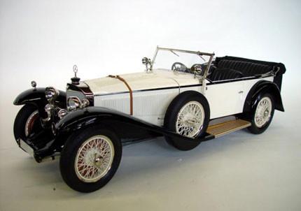 Reproducciones de coches de época a escalas inusuales