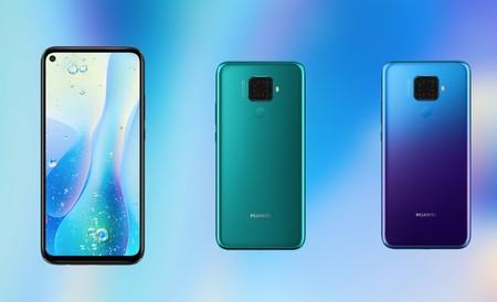 Huawei Nova 5i Pro: cuádruple cámara y agujero en pantalla para el gama media que apunta a ser la base del Mate 30 Lite