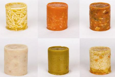 El striptease de las latas de sopa