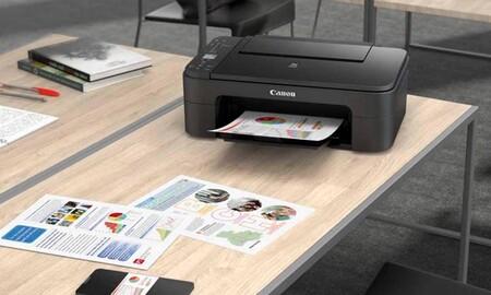 Si necesitas impresora multifunción, en Amazon tienes la Canon Pixma TS3350 por sólo 49 euros con envío gratis