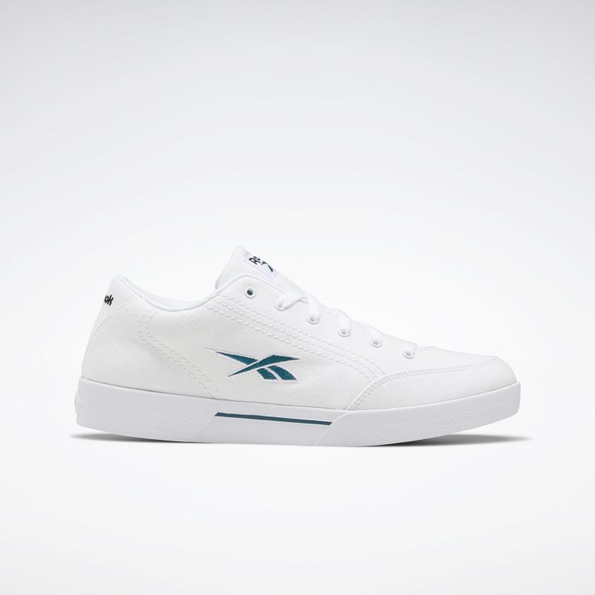 Zapatillas de tela blancas