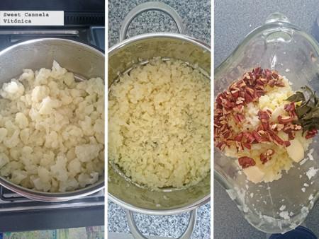Preparacion Pure Coliflor