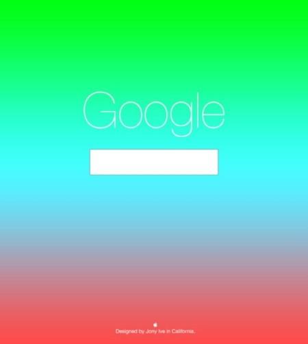 Rediseño de Google