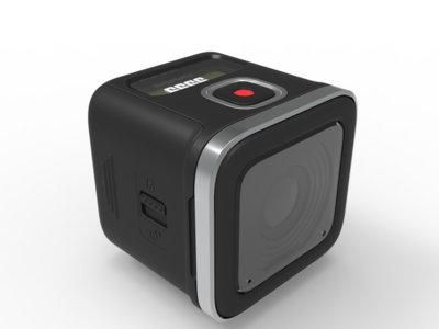 Rollei Actioncam 500 Sunrise, cámara de acción con grabación 4K a quince fps