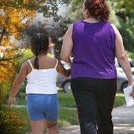 Los padres admiten la responsabilidad de la obesidad de sus hijos