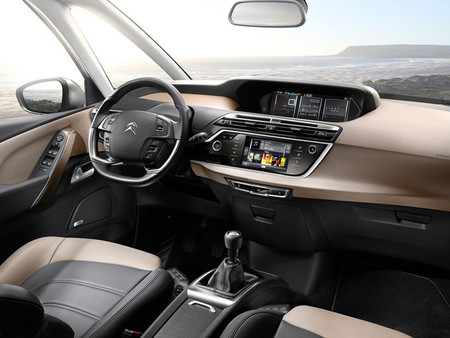 Citroën C4 Picasso 2013, vista interior