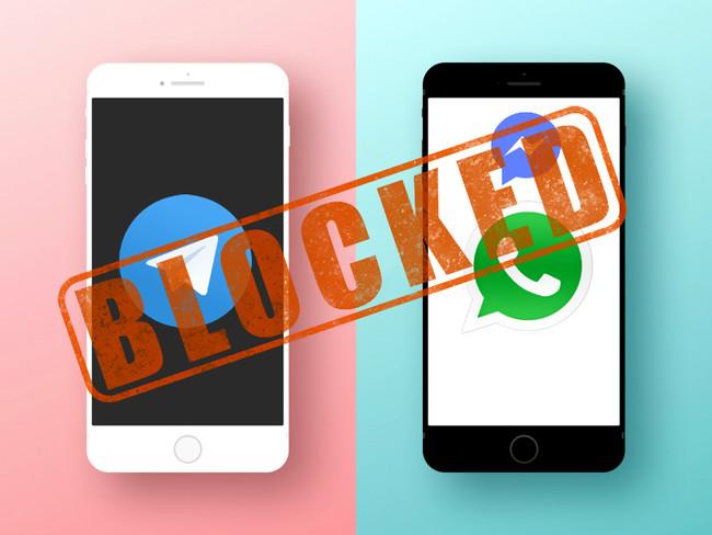 Whats Telegram™ Blocked