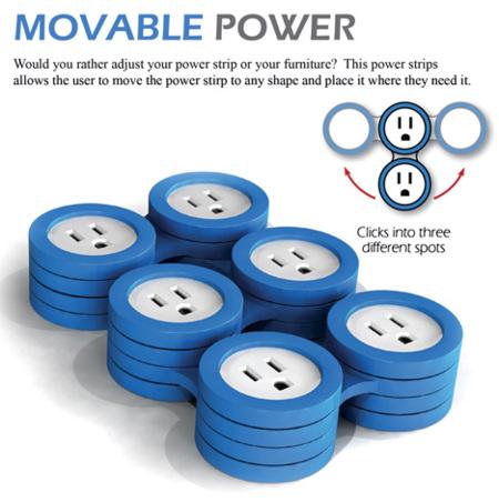 Movable Power, diseña tu propia regleta de enchufes