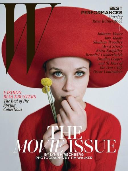 W Magazine Reese