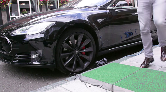 Tesla Pavegen