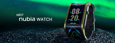 Nubia Watch: el reloj de pantalla flexible que se adapta a tu estilo de vida (y a tu muñeca)