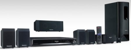Sistema Premium Sound DVD Home Cinema de Panasonic